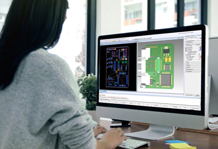 pcb design 3D con PADS Professional